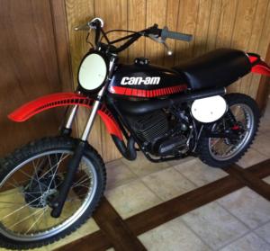 can am dirt bike old two stroke 2stroke