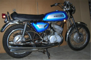 2 stroke, old, bike, motorcycle, custom