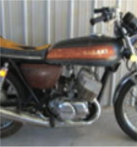 vintage, motorcycle, garage, refurbish, classic