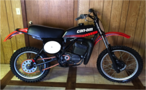 can am dirtbike old two stroke 2stroke