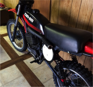 can am dirt bike old two stroke 2stroke